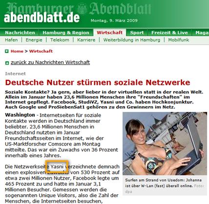 yasni_auf_Hamburger_Abendblatt