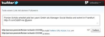 Änderungen tweeten