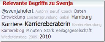 Relevante Begriffe zu Svenja Hofert