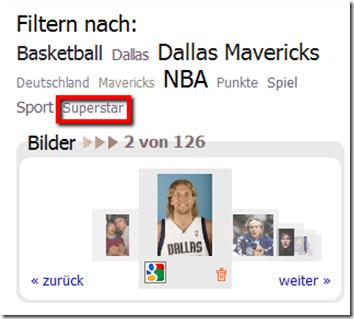 Dirk Nowitzki im Internet