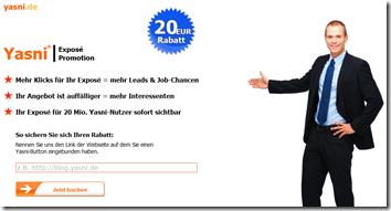 Mehr Klicks für Ihr Exposé = mehr Leads & Job-Chancen